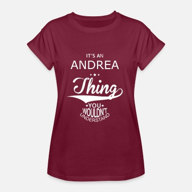 Andrea Andrea - Vrouwen oversize T-shirt