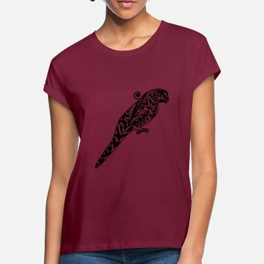 Maori Tiki Maori Parrot Tiki Hawaii - Women's Loose Fit T-Shirt