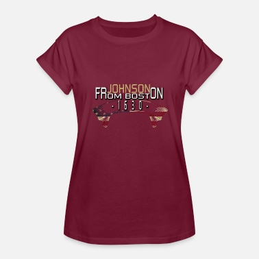 Boston Tea Party johnson from boston - T-shirt oversize Femme
