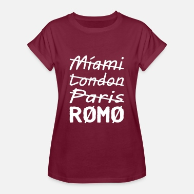 London Paris Miami London Paris Rømø - Women's Oversize T-Shirt