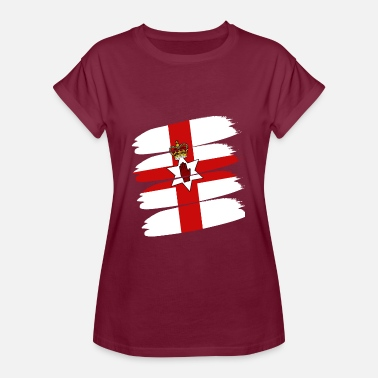 Flag Northern Ireland Northern Ireland flag - Women's Oversize T-Shirt