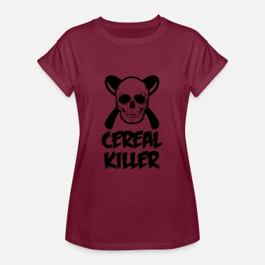 Cereal Cereal Killer - Frauen Oversize T-Shirt