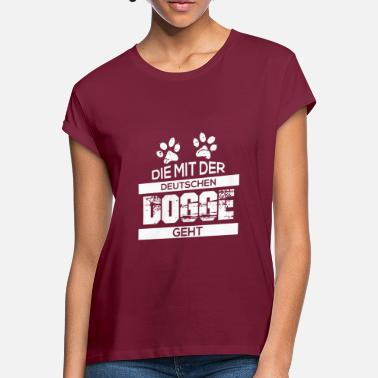 Doggen Deutsche Dogge - Frauen Oversize T-Shirt