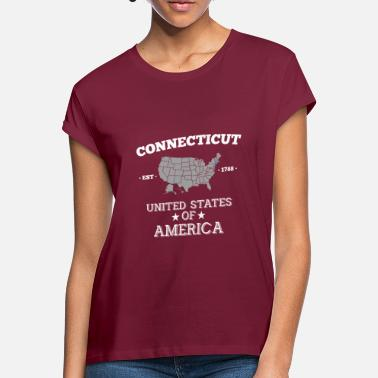Connecticut Connecticut - Naisten oversized t-paita