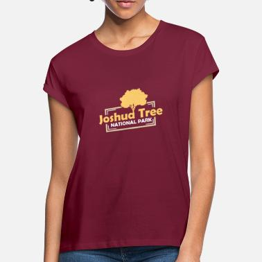 Nationalpark US-Nationalparks: Joshua Tree Nationalpark - Frauen Oversize T-Shirt