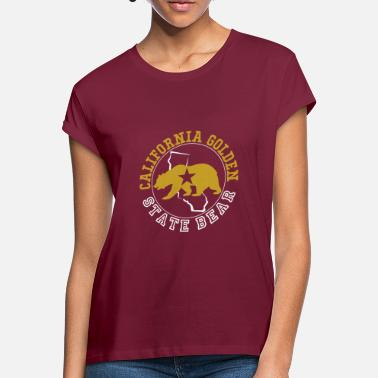 Golden State Californie Golden State Ours - T-shirt oversize Femme