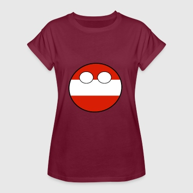 Home Country Countryball Country Home Austria - Women's Oversize T-Shirt