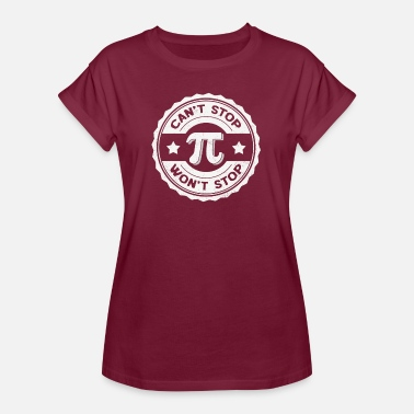 Pi Pi Day Math Teacher Nerd Algebra Pi - Women's Oversize T-Shirt