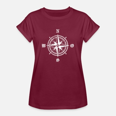 Compassion compass - Women's Oversize T-Shirt