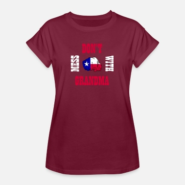 Lone Star Leg dich nicht mit Oma Lone Star State Southern an - Frauen Oversize T-Shirt