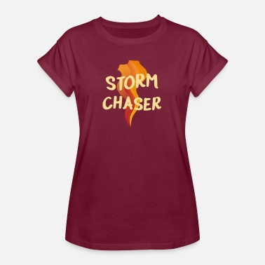 Storm Chaser Storm Chasing Tornado - Oversize-T-shirt dam