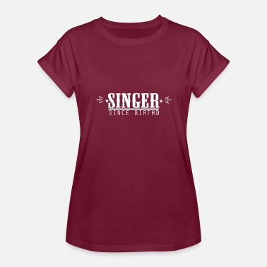 2011 Super Cool Awesome Singer Since Birth - Women's Oversize T-Shirt