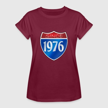 Since 1976 Since 1976 - Women's Oversize T-Shirt