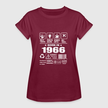 Born In 1966 - Women's Oversize T-Shirt