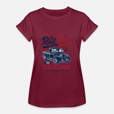 Steelers Le Real Steel - T-shirt oversize Femme