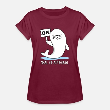 SEAL OF APPROVAL - Women's Oversize T-Shirt