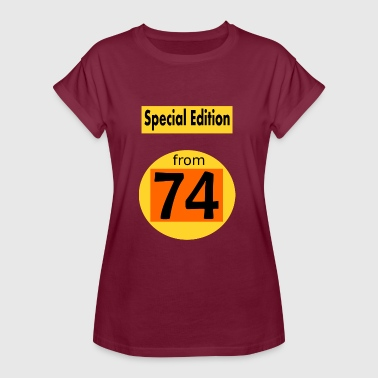 Special Number Special Edition 1974 - Women's Oversize T-Shirt