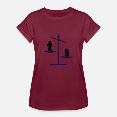 Justice Authority justice - Women's Oversize T-Shirt