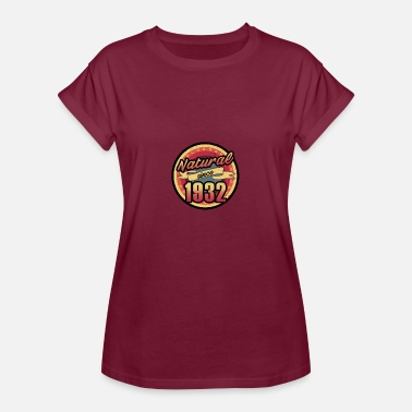 85th Birthday Gift for the 85th birthday - vintage 1932 - Women's Oversize T-Shirt