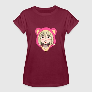 Teddy Girl lorey.w Girl with teddy ears - Women's Oversize T-Shirt