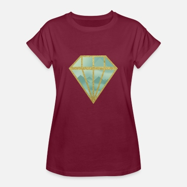 Indie Indie diamond - Women's Oversize T-Shirt