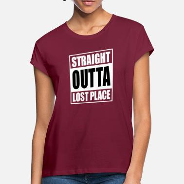 Lost Place Straight Outta Lost Place - Oversize T-shirt dam