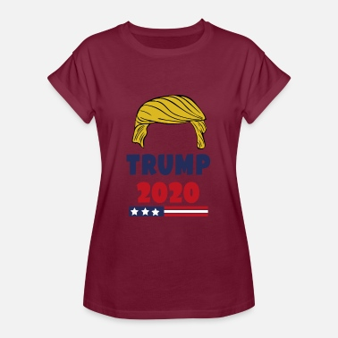 Presidential Election Trump 2020 - Women's Oversize T-Shirt