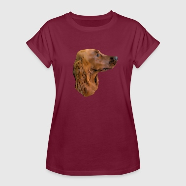 Irish setter - Women's Oversize T-Shirt