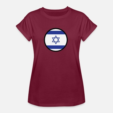 Gaza Strip Under The Sign Of Israel - Women's Oversize T-Shirt