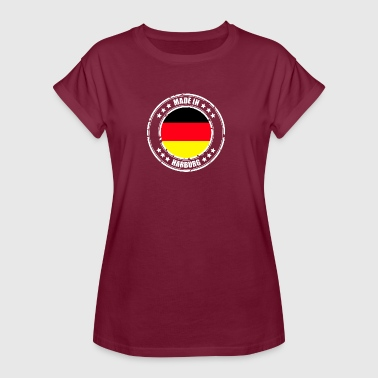 HARBURG - Frauen Oversize T-Shirt