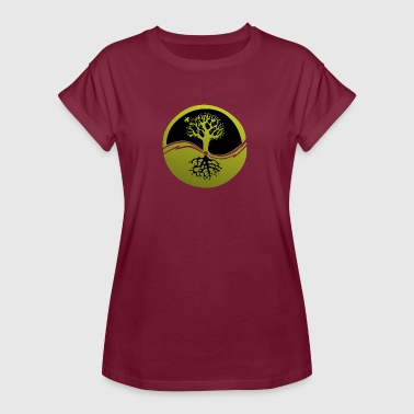 Tree Roots Tree with roots - Women's Oversize T-Shirt