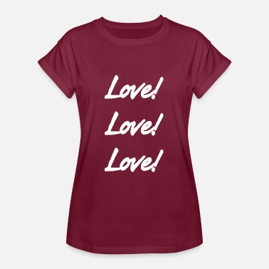 In Love Love Love Love - Women's Oversize T-Shirt