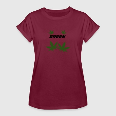 green weed party - Women's Oversize T-Shirt