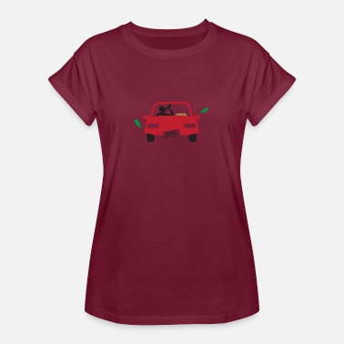 Beverages Accident A Drunk Driver - Women's Oversize T-Shirt