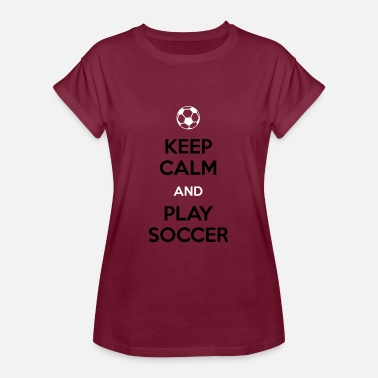 Soccer Player Soccer Player - Frauen Oversize T-Shirt