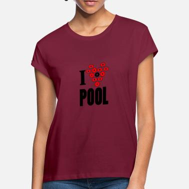 Pool Pool - Frauen Oversize T-Shirt