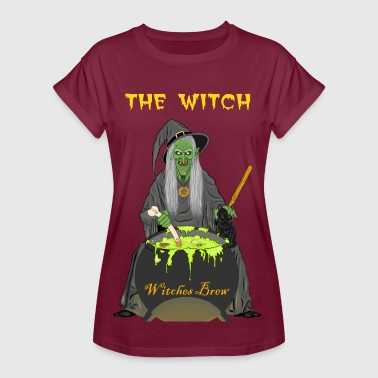 The Witch horror T-shirt - Women's Oversize T-Shirt