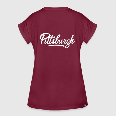 Pittsburgh Pittsburgh - T-shirt oversize Femme