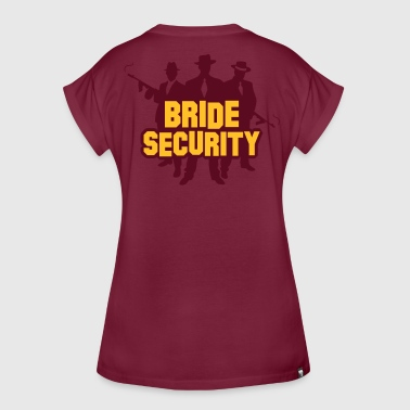 Security Team Of The Bride. - Women's Oversize T-Shirt