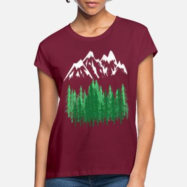 Mountains Mountains Mountains mountaineering - Women's Loose Fit T-Shirt