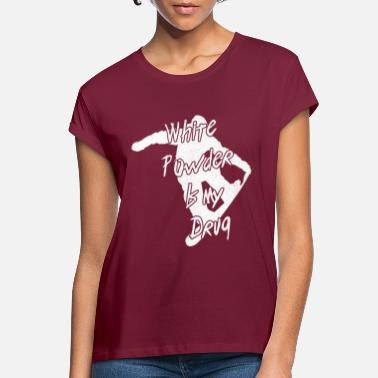 Snowboarding Snowboarding Snowboarding Snowboarding Snowboarder - Women's Loose Fit T-Shirt