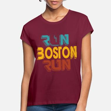 Boston Marathon Boston Marathon - Oversize T-shirt dame