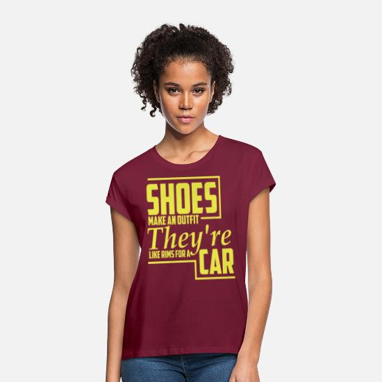 Sayings T-Shirts - Car drivers drive car lovers saying - Women's Loose Fit T-Shirt bordeaux