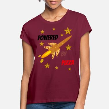 Pizza is my Life, Pizza, Power und Rakete. - Frauen Oversize T-Shirt