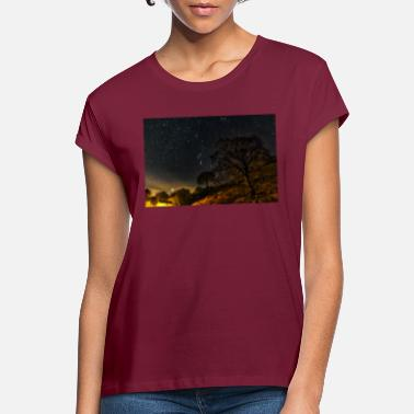 Shropshire Night with the Star's - Women's Loose Fit T-Shirt