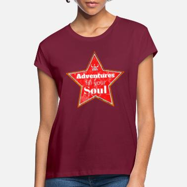 Soul Soul Adventure - Vrouwen oversized T-Shirt