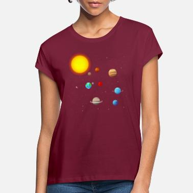 Solar solar system - Women's Loose Fit T-Shirt