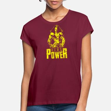 Woman Power Girl power woman power woman - Women's Loose Fit T-Shirt