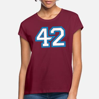Number The answer is 42 - Women's Loose Fit T-Shirt