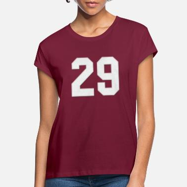 Jersey Number Baseball Sports jersey number / Jersey Number 29 - Women's Loose Fit T-Shirt